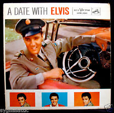 ELVIS PRESLEY-A DATE WITH ELVIS Album-RCA VICTOR #LPM-2011-Non Gatefold Calender