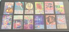 Australian 1998 Australia Music Rock N Roll  set of 12 S/A stamps used Off Paper