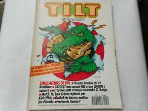 TILT MAGAZINE N°81 SEPTEMBRE  1990 JEU VIDEO MICRO RETRO