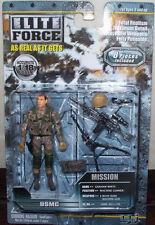 BBI Elite Force 1:18 USMC Figure: Machine Gunner (21178)
