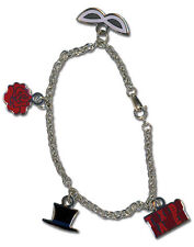 NEW Official GE Sailor Moon - Tuxedo Kamen Mask Charm Bracelet GE36212 US Seller