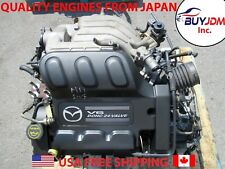 2002-2006 Mazda MPV 3.0L V6 Engine MPV Duratec Engine JDM AJ Engine Auto Trans