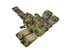 hip holster molle left airsoft multicam