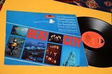 TONY SHERIDAN TREMORS BATS...LP BEAT CITY 1°ST ORIG GERMANY 1965 EX