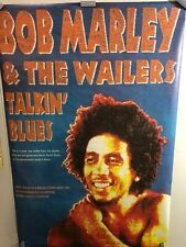 HUGE SUBWAY POSTER- Bob Marley & the wailers Talkin' Blues Marijuana One Love