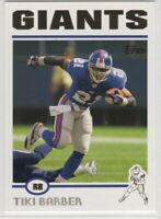 2004 Topps Football New York Giants Team Set Eli Manning rookie