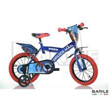 """Vélo 16 """" Dino Vélo Spiderman Enfant/Bébé Rouge/Bleu"""