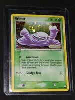 Pokemon- Grimer-54/92- EX LEGEND MAKER STAMPED- Rare- Holo- NM-Plus!!!