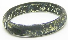 "17th - 18th century Jacobean - Georgian Gilt Bronze Posy Ring ""loue vntil death"""