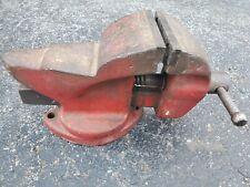 Vintage Morgan 4 Bench Vise