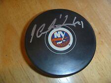 Jaroslav Halak New York Islanders Signed/Auto Puck  COA