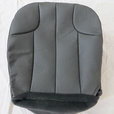 99-03 Jeep grand Cherokee 4 Door GAS Driver Bottom Leather Seat cover Dark GRAY