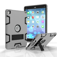 Shockproof Rubber Heavy Duty Tough Case Cover for Apple iPad 4 3 2 mini Air Pro