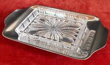 beurrier verre métal argenté