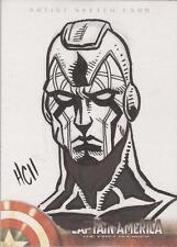 Captain America The First Avenger Movie - Hamilton Cline Sketch Card