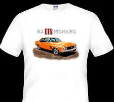 1974  HOLDEN  HJ  GTS MONARO SEDAN 4 DOOR 253  308  V8   QUALITY  WHITE TSHIRT