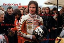 BARRY SHEENE SUZUKI Portrait champion du monde 1976 & 1977 Photographie 1
