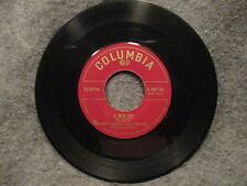 "45 RPM 7"" Record Harry James & Paul Weston Serenata & O Mein Papa 4-40134"