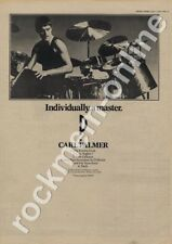 ELP Carl Palmer Joe Walsh LP Advert 1977