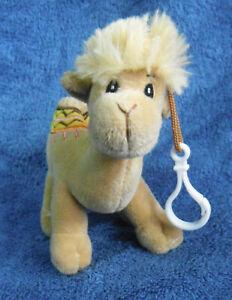 *2131* Dromedary Camel (one hump) with key clip – Israel - 14cm - plush