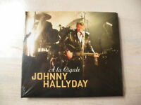 JOHNNY HALLYDAY A LA CIGALE CD DIGIPACK   Neuf sous blister