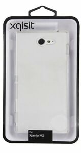 (RV400) JOBLOT of 39 x Xqisit 17805 iPlate Glossy Clear Cover for Sony Xperia M2