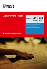 160Sheets 4x6 Glossy Photo Paper 230 240Gsm For Inkjet Paper Printing 6x4 Uinkit