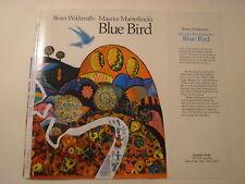 Maurice Maeterlinck's Blue Bird, Brian Wildsmith, Dust Jacket Only