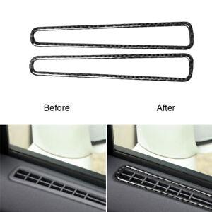 Carbon Fiber Window Conditioner Outlet Cover Trim For Nissan GT-R R35 2008-2020