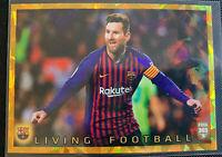2020 FIFA 365 Panini Sticker LIVING FOOTBALL LIONEL MESSI Barcelona #100