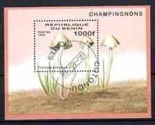 Champignons Bénin (5) bloc oblitéré