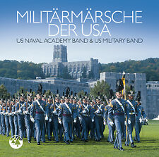 CD Militär Märsche Der USA von U.S.Naval Academy Band-Warner Bros Military Band