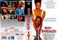 "VHS "" Mister BOMBASTIC "" (1996) Martin Lawrence - Lynn Whitfield - Bobby Brown"
