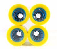 Sector 9 Dual Durometer 70mm 78a Urethane 90a Core Longboard Wheels