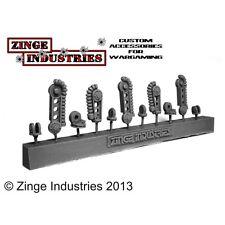 ZINGE industrie Robot Servo Arm-Set di 3 ARMI-Armi solo canale di colata s-ser02