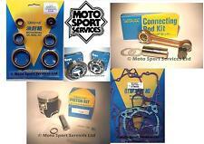 KTM 300 EXC 08-16  Mitaka Engine Rebuild Kit Rod Piston B Mains Gasket Seal Kit