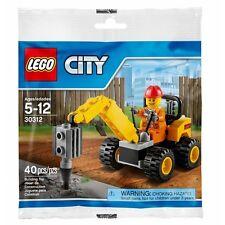 LEGO CITY DEMOLITION DRILLER POLYBAG PROMO MINIFIGURE CONSTRUCTION SET 30312