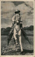 Actor The Lone Ranger Chrome Postcard Vintage Post Card