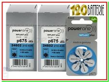 120 POWER ONE P675 IMPLANT PLUS Batterie Pile per apparecchi acustici COCLEARI