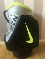 Nike Den RZN mini Golf Tour Ball Bag/ Collectors/ Rare/ Black/volt