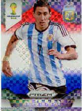 2014 World Cup Prizm Red White Blue Plaid Parallel No.9 A.D.MARIA (ARGENTINA)