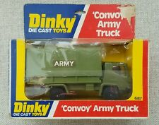 "Dinky ""Convoy"" Army Truck # 687 w/ packaging *Us Seller*"