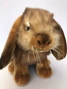 Bocchetta Plush Toys Lop Ear Rabbit 'Most Realistic' Plush Bunny NWT