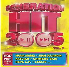 Compilation 2xCD Génération Hit 2005 - France (M/M)
