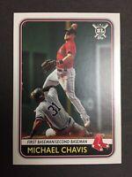 2020 TOPPS BIG LEAGUE BASEBALL #41 MICHAEL CHAVIS BOSTON RED SOX