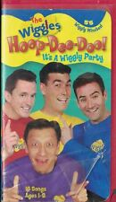 The Wiggles - Hoop-Dee-Doo VHS, 2002 Clam Shell Case