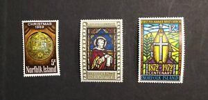 Norfolk Islands #125, #150-#151, Mint, NH, OG