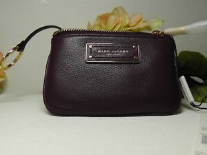 Marc by Marc Jacobs Classic FIG Leather Key Pouch*****NEW*****