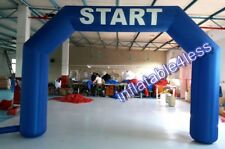 15ft Blue Inflatable Arch Archway w/Fan Made to Order BEST DEAL EVER!!