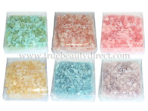 AROMICS AROMATHERAPY AROMACOLOGY SHIMMERING BATH CRYSTALS FRAGRANCE NEW IN BOX